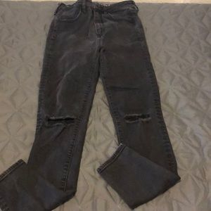 AE high rise jegging Jeans